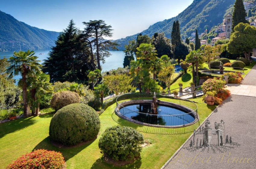 Luxury villa in Lake Como