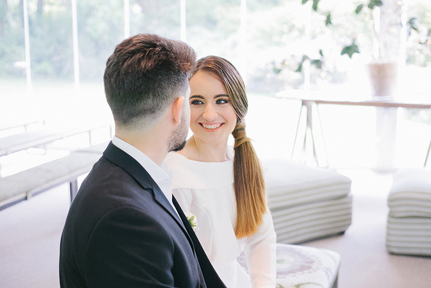 Small wedding in Spain