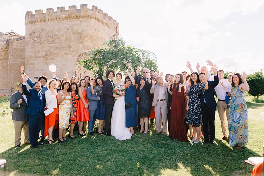 Wedding in Castle Buen Amor