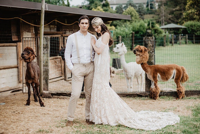 Stephanie and Andrew's Tropical Wedding at Mulino dell'olio in Italy - Perfect Venue