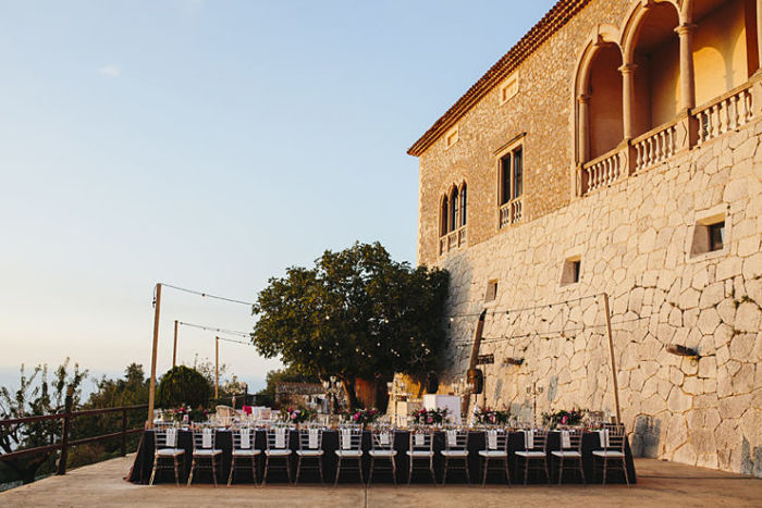 Wedding in Mallorca on a Marble Pavilion by the Sea - Perfect Venue