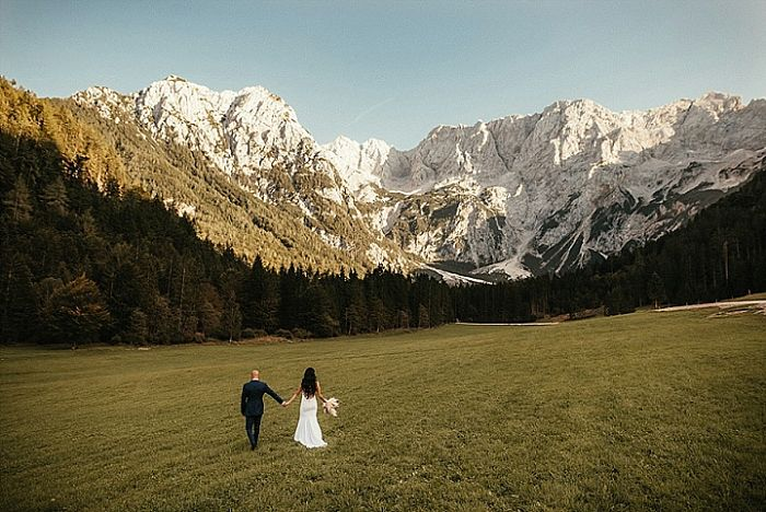 Stephany and George's Wedding Surrounded by Magnificent Mountains in Slovenia - Perfect Venue