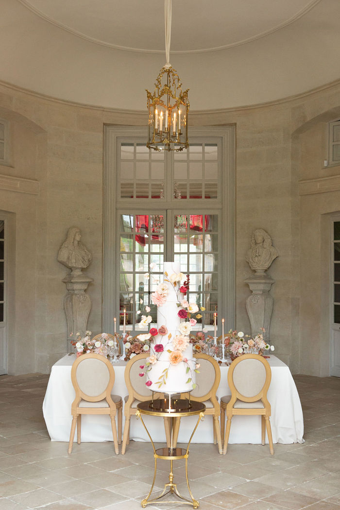 Elegant Elopement in a French Country Estate Mansion - Perfect Venue