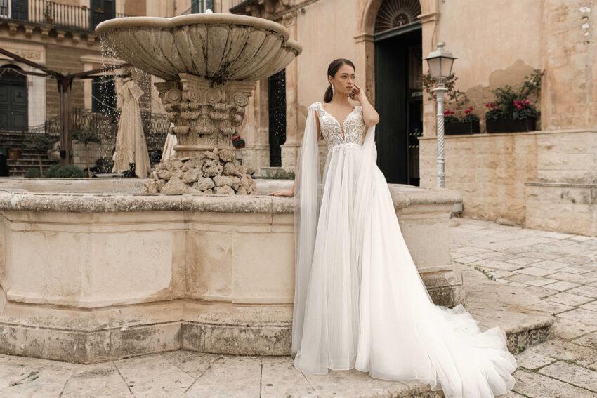 colas vestido de novia 2021 - perfect venue