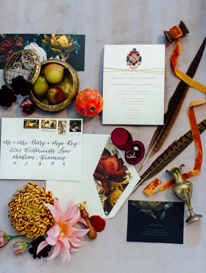 Mallory and Chris' Vintage Renaissance Wedding - Perfect Venue
