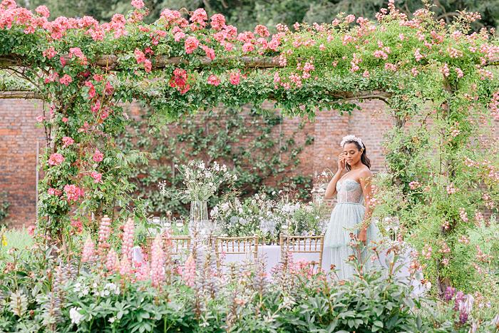 Spring Wedding Shoot in a Historical Walled Garden - Perfect Venue