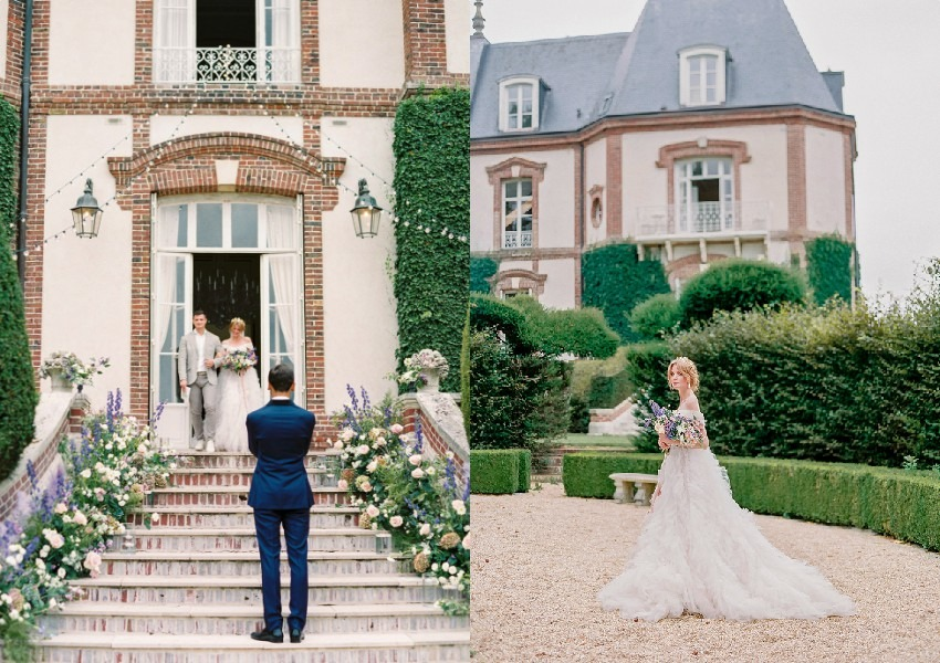 Elegant wedding at a chateau - Perfect Venue