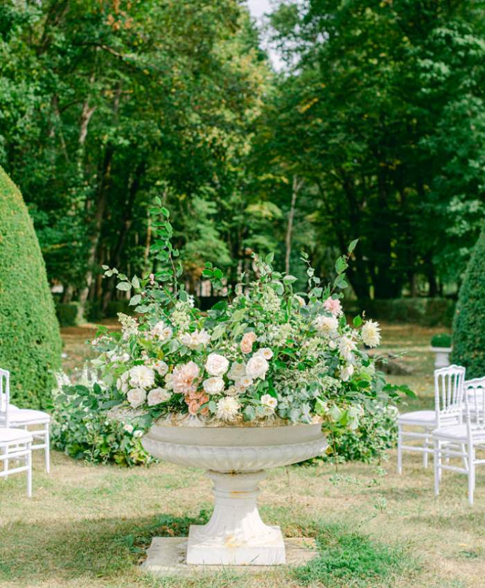 Margaux and Charles' Botanical Wedding in a French Countryside Estate - Perfect Venue