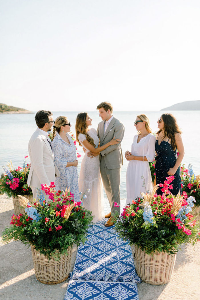 Stephanie and Sergio's Intimate Wedding on a Yacht in Greece - Perfect Venue