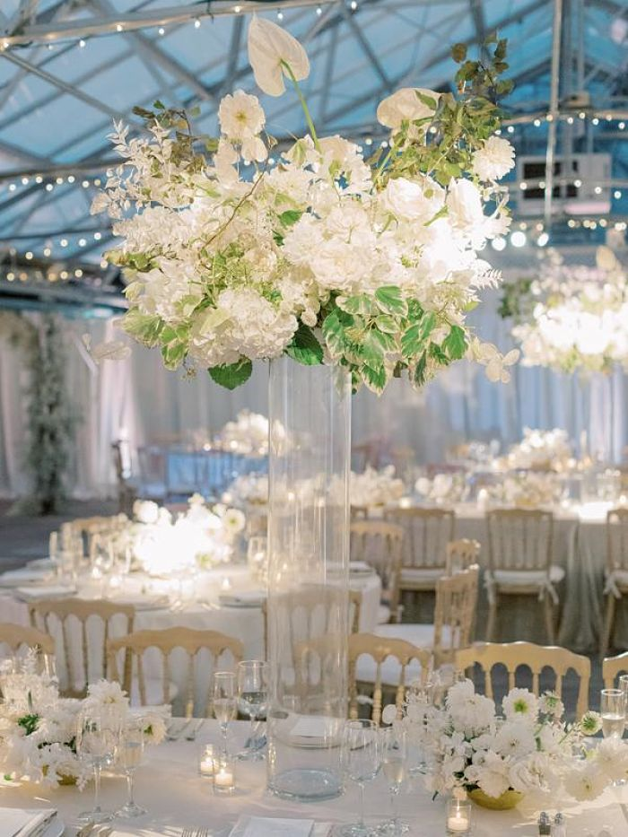 Take a Look at This Lush Indoor Botanical Garden Wedding - Perfect Venue