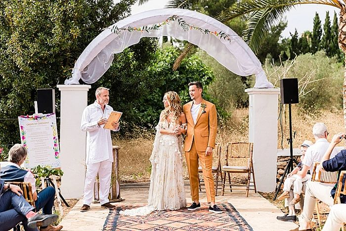 Miles and Emily's Boho-Tropical Ibiza Wedding - Perfect Venue