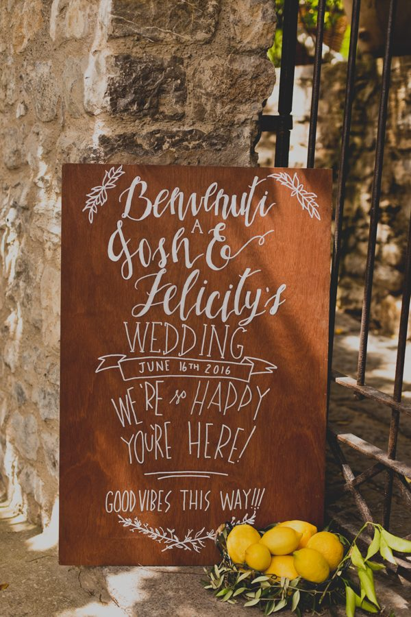 Intimate Amalfi Coast wedding - Perfect Venue
