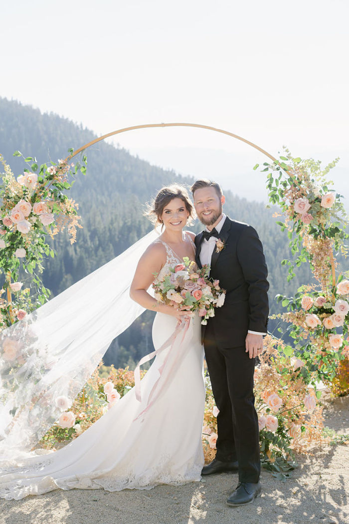 Lauren and Craig's Intimate Mountain Top Wedding at Lake Tahoe, Nevada - Perfect Venue