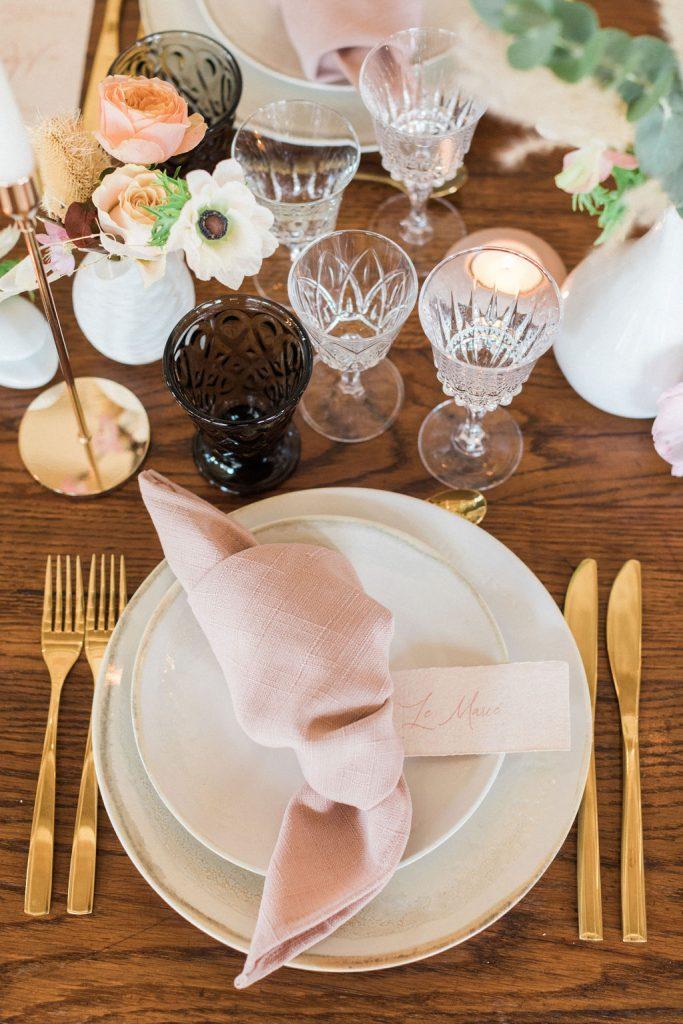 Rustic Fine Art French wedding inspiration