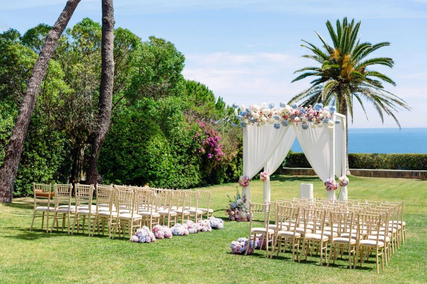 Sintra villa wedding venue