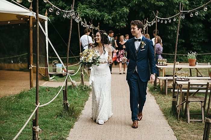 Fiona and Christopher's Traditional British Tea Party Wedding - Perfect Venue